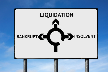 Advice for companies that have gone into liquidation